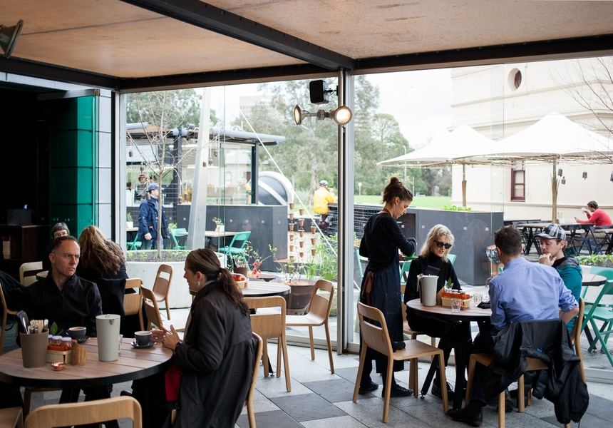 Hollywood Chairs at Jardin Tan, Melbourne VIC – a Shannon Bennett experience