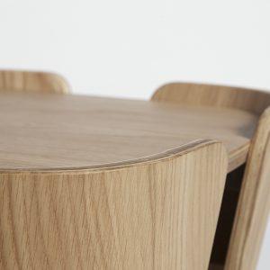 Tulipa Coffee Table Natural Oak