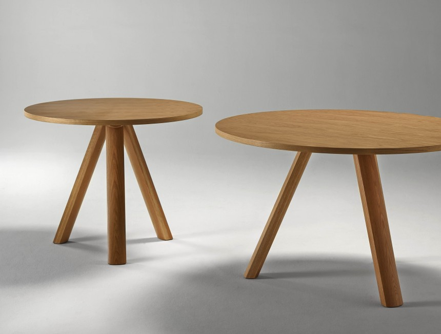 NATURAL Round Plateau Table