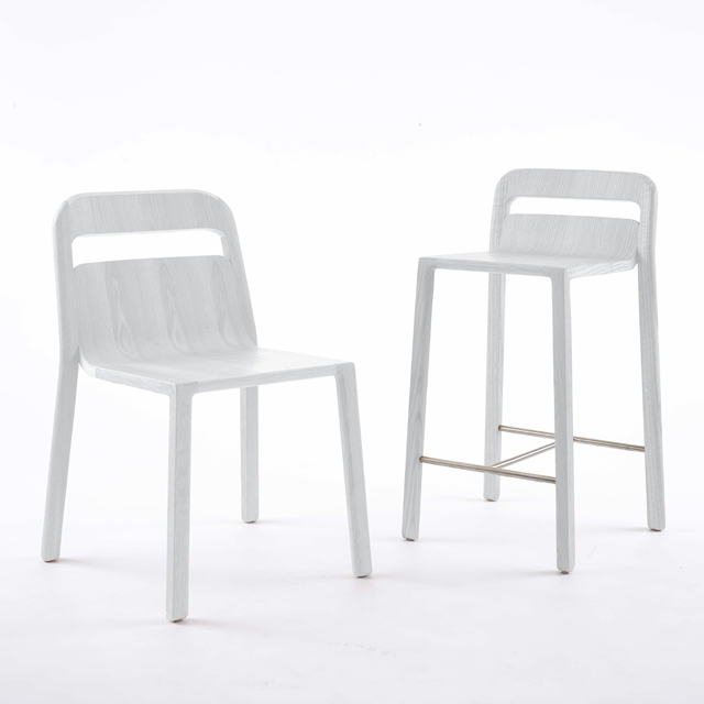 go home go home Hollywood white chair and stool