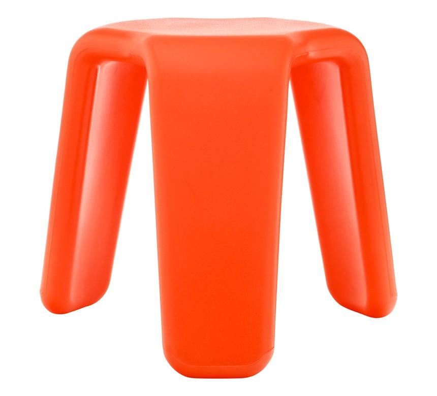Launch stool orange