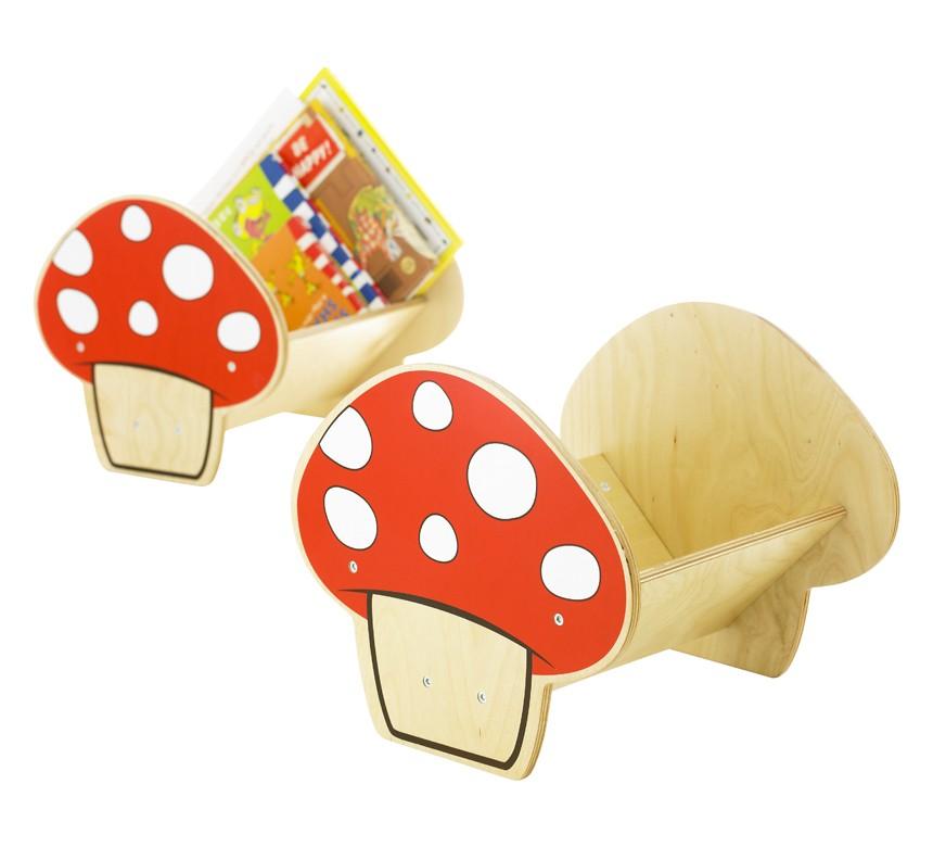 Mushroom Book Case