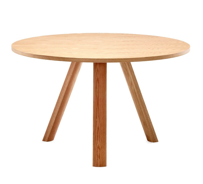 Plateau Round 1200 Natural wood