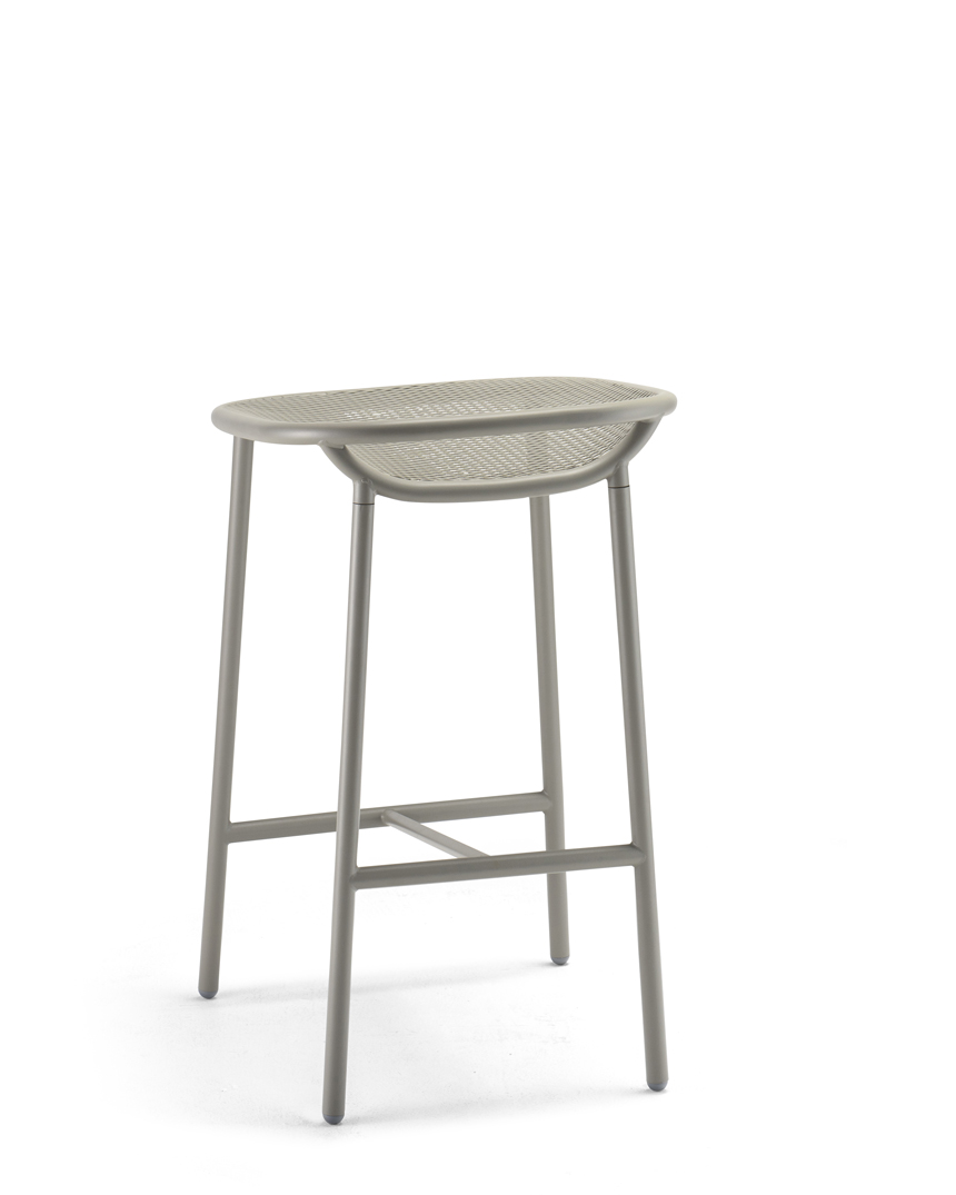 Grille Outdoors In 650mm Seat Height Counter Stool
